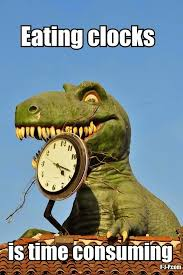 Funny Dinosaur Meme - funny dinosaur memes funny dinosaur eating clocks time consuming