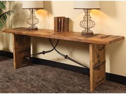 Reclaimed Wood Console Table Classic Home Kendari Rustic Reclaimed Wood Console Table Fashion