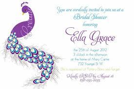 peacock invitations pretty peacock invitation birthday bridal shower baby