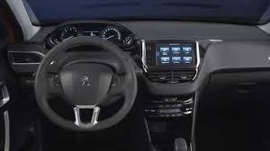 peugeot 208 2016 peugeot 208 facelift interior youtube