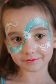 30 cool face painting ideas for kids frozen face paint painting