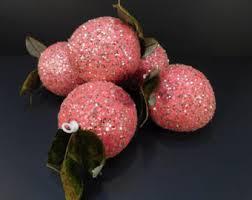 fruit ornaments etsy