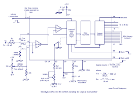 monolithic hybrid analog to digital a d converter circuit diagram