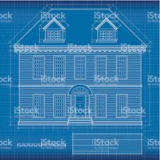 blue print house blueprint house stock vector art 167590578 istock