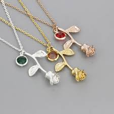 s day necklace with birthstone charms personalized custom jewelry birthstone charm choker