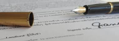 thai land lease agreement template