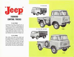 jeep forward control 1962 kaiser jeep brochure