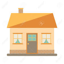 Small House Exterior Design Little Cute Modern House For Happy Family With Chimney Roof