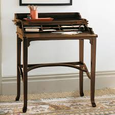 campaign writing desk wood u0026 bay finish oka