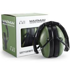 Sho Green pro for sho 34db shooting ear protection special designed ear muffs