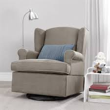 Chairs For Livingroom Cream Swivel Chairs For Living Room Beside Floor Lamp And White