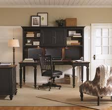 Black Desk With Hutch Aspenhome Ravenwood Curved Half Pedestal L Shaped Desk With File