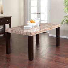 acme forbes marble dining table hayneedle