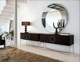 wandspiegel wohnzimmer wandspiegel weiss acryl rahmen mit kunstlederbezug und dekorative