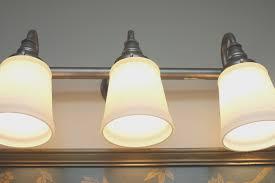 Inexpensive Vanity Lights How To Change A Bathroom Vanity Light Fixture Paleovelo Com
