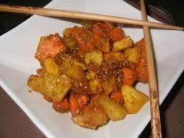 cuisiner curcuma frais wok de légumes d automne au curcuma frais sésame recette ptitchef