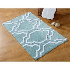 Cotton Bathroom Rugs Saffron Fabs 34 In X 21 In And 36 In X 24 In 2 Cotton