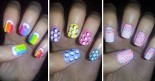 Easy Nail Art For Beginners  YouTube - At home nail art designs for beginners