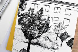 how to draw trees in urban sketching in 3 simple steps rozanov info