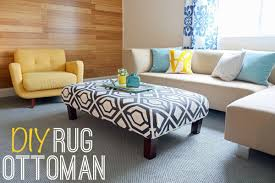 How To Make An Ottoman From A Coffee Table Upholstered Coffee Table Diy Www Napma Net