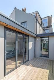 modern flat roof house plans garage flat roof contemporary extension hidden roof house