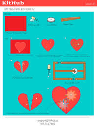 how to make electronic circuits on paper and craft materials kithub