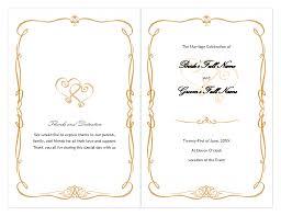 wedding program wording etiquette luxury gold border wedding invitation wording etiquette