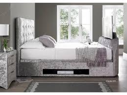 Tv Bed Frames Bar Tv Bed Ottoman Fabric Bed Frame