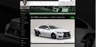 lexus is 250 body kit f sport kyoei usa
