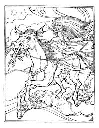 unicornio de clyde caldwell unicornios pinterest mythology