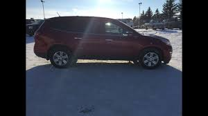 chevrolet traverse blue used 2013 chevrolet traverse 2lt red awd 18n030a youtube