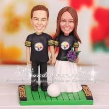 football wedding cake toppers pittsburgh steelers football wedding cake toppers wedding ideas