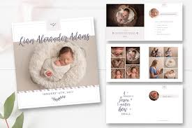 baby 1st year book 10x10 baby photo book template baby year photobook template