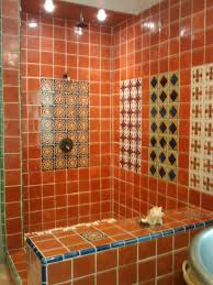 Mexican Tiles For Kitchen Backsplash Mexican Tile Shower Santa Monica Cyn Inspirations Pinterest