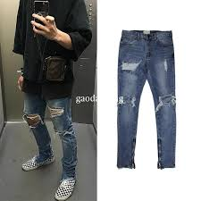 blue jumpsuit mens 2018 mens fancy trouser jumpsuit hip hop clothing