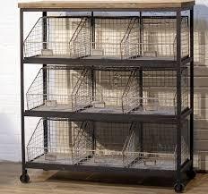 Storage Bin Shelves by Best 25 Rolling Storage Bins Ideas On Pinterest Metal Work