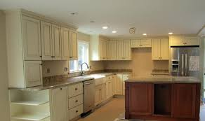 colourful kitchen cabinets cream colored backsplash tile tile cream colored kitchen cabinets