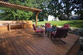 Decks With Benches Built In 26 Floating Deck Design Ideas