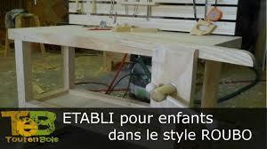 Etabli De Menuisier Ancien En Bois Travail Du Bois Construction D U0027un établi Simple Building A