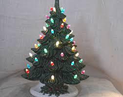 ceramic christmas tree vintage ceramic christmas tree etsy