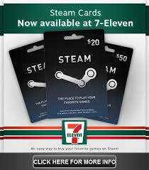 steam gift card online valve releases 7 11 steam cards valvetime net valve news