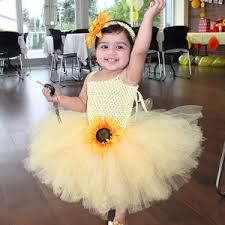 sunflower headband sunflower tutu dress with matching sunflower headband