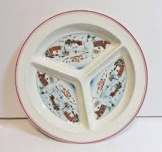 villeroy and boch naif divided platter tray in original
