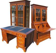 Schreibtisch Echtholz Biedermeier Möbel Antik Schreibtisch Vitrine Kommode