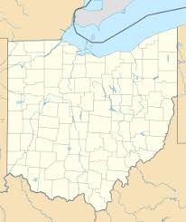 ohio on the map of usa columbus ohio