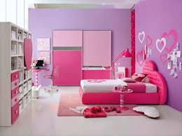 amazing pink study room with brown curtain design awesome and