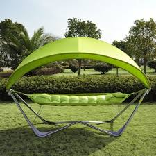 portable hammock with canopy table designs