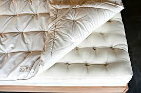 American Bedding Mattress Wool Mattress Pad Organic Bedding Made In Usa Shepherd U0027s Dream