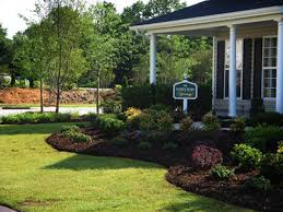 Landscaping Around House by Symmetrical Front Yard Landscape Ideas Front Yard Craftsman