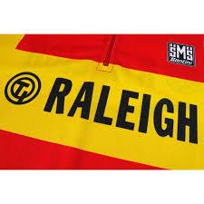 Raleigh Flag Ti Raleigh Retro Jersey Short Sleeve Prendas Ciclismo